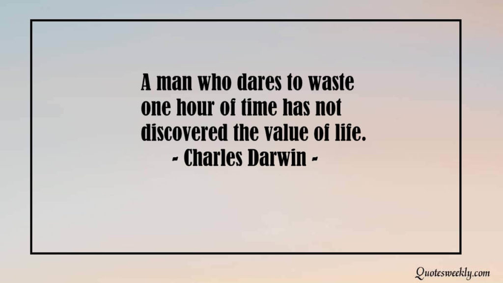 Wasting time quotes