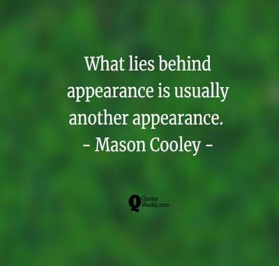 appearances quotes