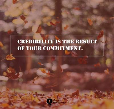 credibility quotes