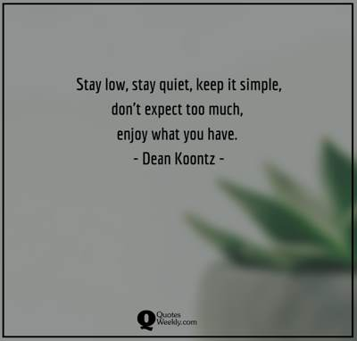 keep it simple quotes