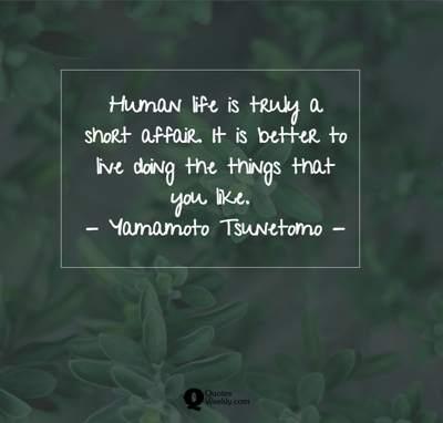human life quotes