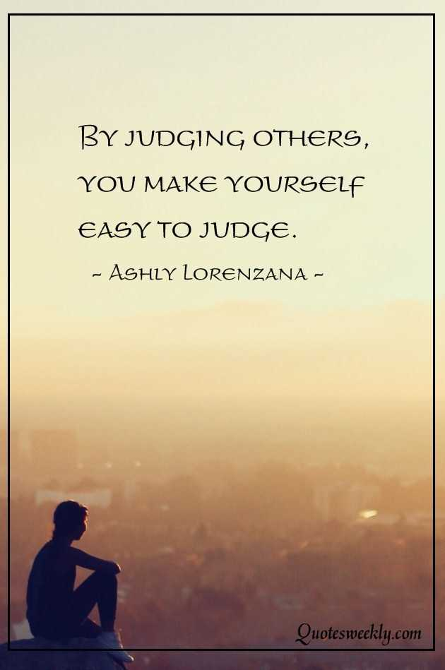 Judging-Quotes